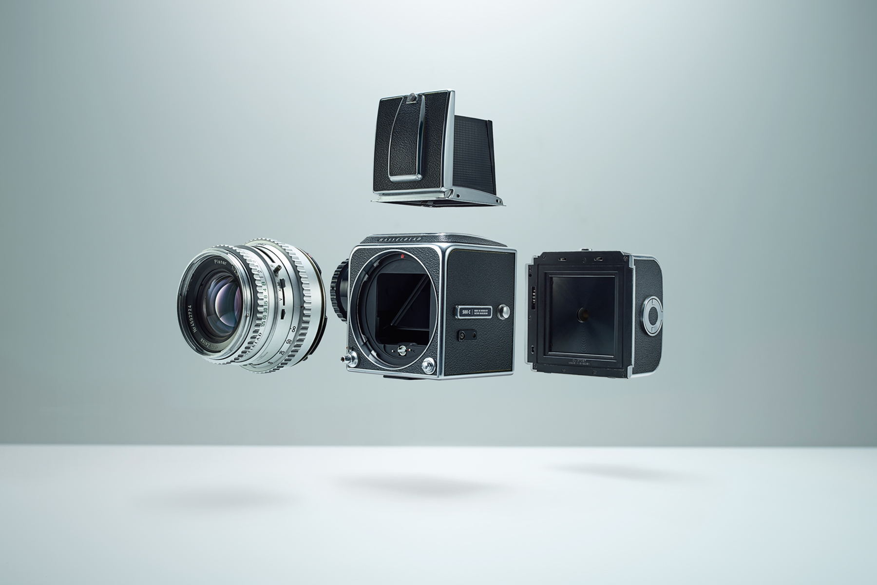HASSELBLAD EXPLODED